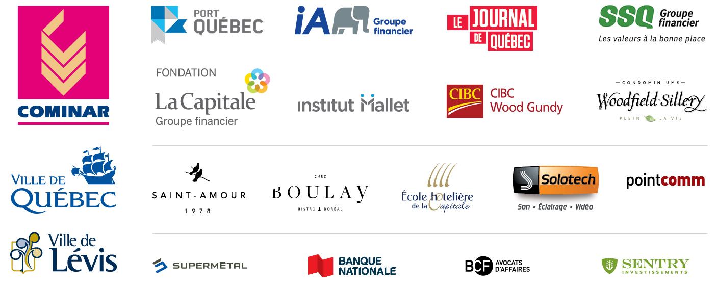 Partenaires de l'événement 2016 QP_Logos