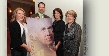 Famille Maurice-Roussin dédié à la Fondation de l'Institut universitaire de cardiologie et de pneumologie de Québec_photo
