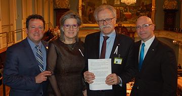 Fondation médicale Jean-Pierre-Despins_hommage Assemblée nationale_photo