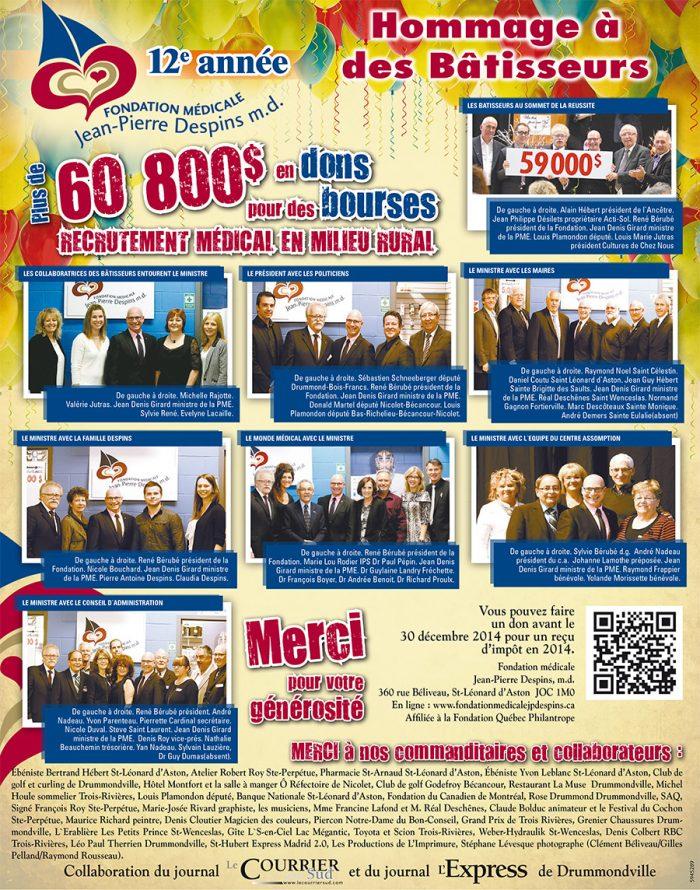 Fondation médicale Jean-Pierre-Despins_hommageBatisseurs_photo(1)