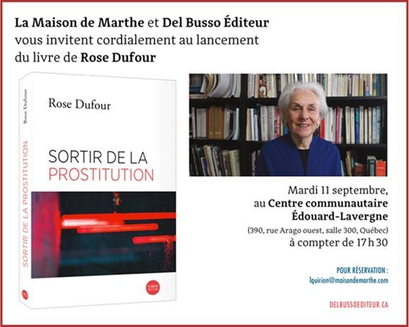 Livre de Rose Dufour_conférence 11 sept2018